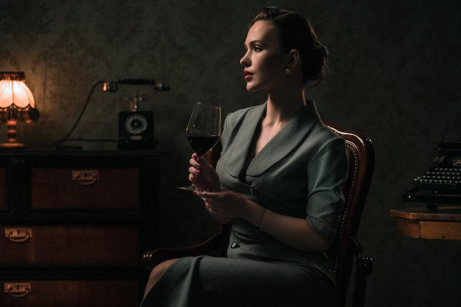 Trink mit ihr einen Wein