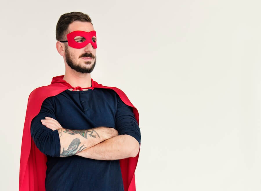 Sei dein eigener Superheld