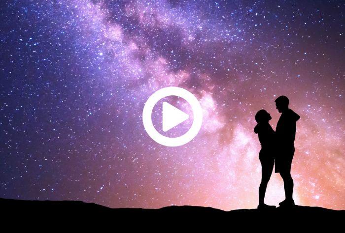 Paar im Moondschein