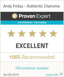 ProvenExpert-Bewertungssiegel - Andy Friday - Authentic Charisma - April19