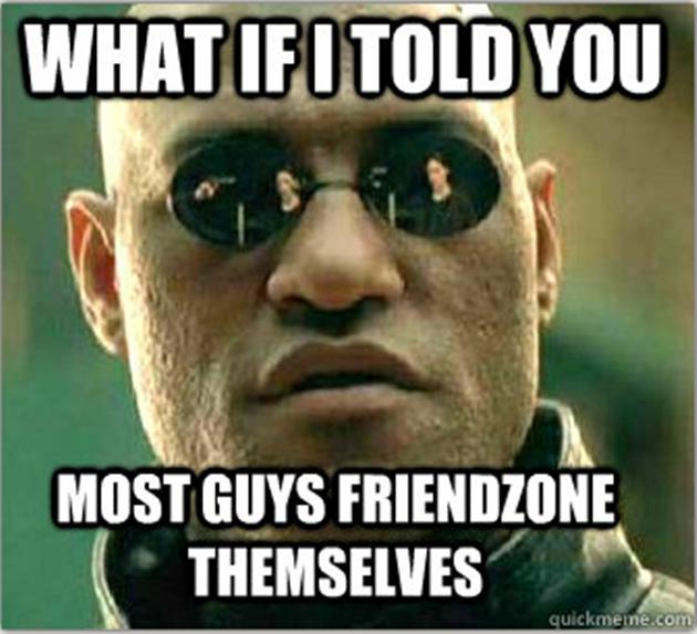 Die meisten Männer werden von sich selbst gefriendzoned