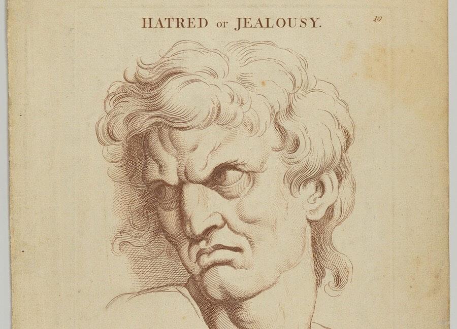 Hass oder Eifersucht - Wikicommons