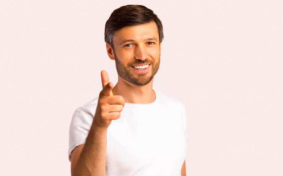 Der Drei-Tage-Bart ist ein zeitloses Accessoire bei Männern