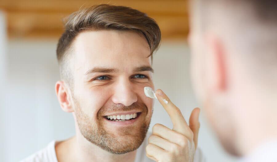 Sorge für eine ausreichend geschmeidige Haut