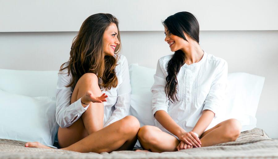 Frauen reden über alles und ausgiebig