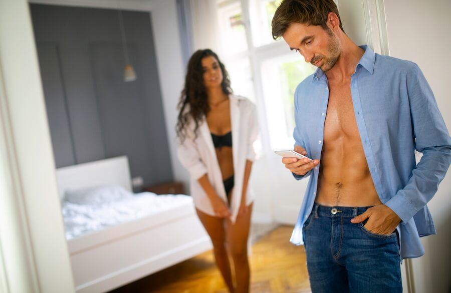 Menschen haben mehrere Sexualpartner