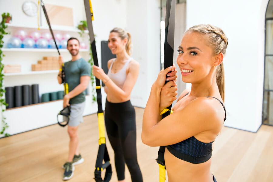 Kannst du im Fitnessstudio den Blickkontakt halten?