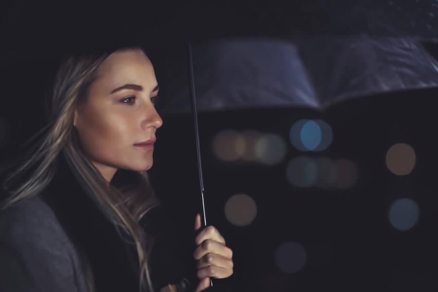 Wenn die Gefühle geordnet sind, ist der Ex Partner lange weg