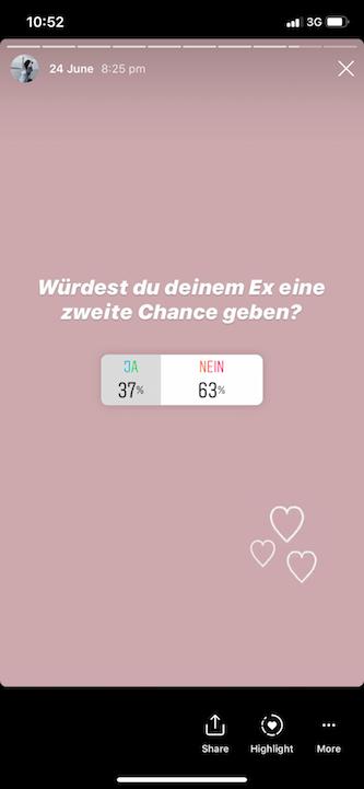 Würdest du deinem Ex noch eine Chance geben?