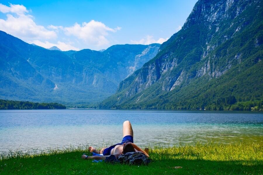 Geh auch mal in die Natur und nimm dir Zeit für dich