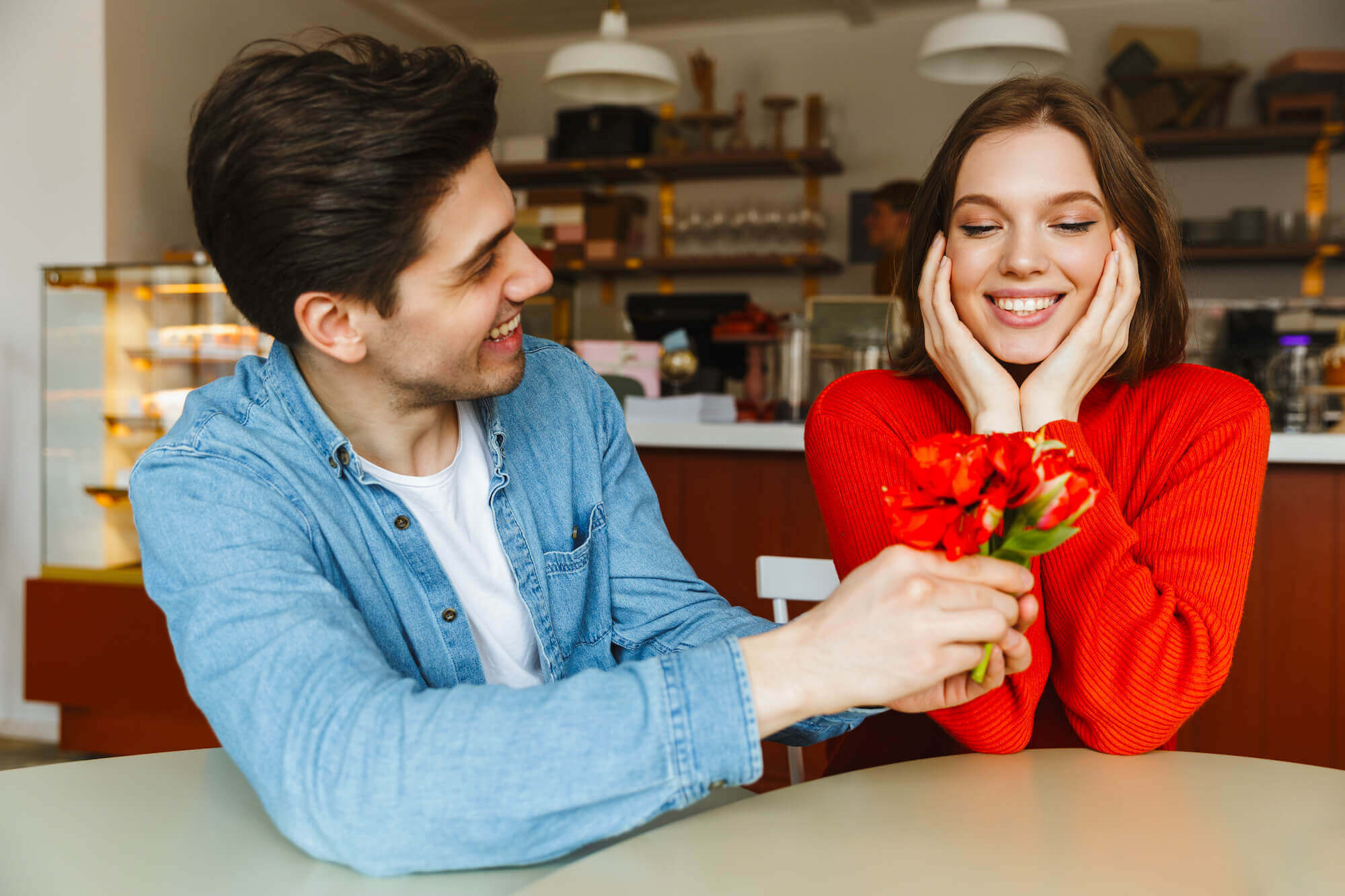 Flirten was männer wollen