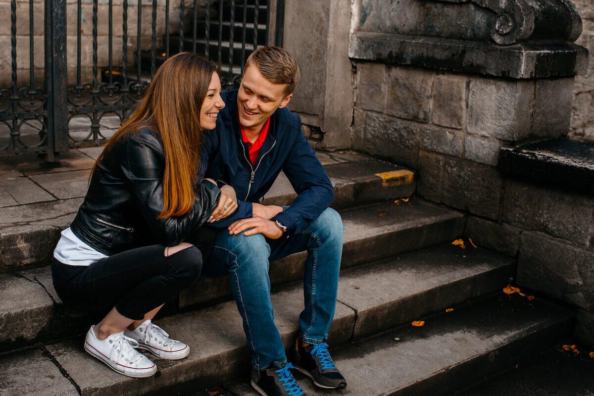 Anzeichen flirten männer